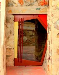 Taliesin West (austexican718) Tags: door arizona taliesin southwest building architecture stonework franklloydwright architect scottsdale
