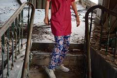 hestitation (ewa dabrowska) Tags: urban abandoned work lunch 50mm factory break sony poland warsaw exploration urbex jupiter3 a6000 hestitation