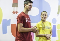 3rd Friendship Games (novakdjokovic.foundation) Tags: 2015 ndfteam novakdjokovic novakdjokovicfoundation suncanibreg trecadrugarijada zlatibor jelenavemic