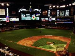 Chase Field - Roof closed (solewalker) Tags: phoenixaz arizonadiamondbacks mlb sports baseball