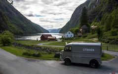 Citron for norsk terreng... (bent inge) Tags: classic june norway norge citron suldal 2016 ryfylke citronhy hylen norwegianfjords nikond810 frenchclassic bentingeask