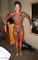 Figure girl, Lana Larouche (KaseyEriksen) Tags: show woman girl beautiful beauty tattoo vancouver muscle competition tattoos figure proam bcabba lanabananafitness