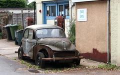 Morris Minor (badhands13) Tags: grey rust rusting morrisminor morris minor