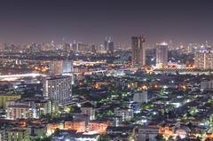 Metropolis (Pond Pisut) Tags: city longexposure building nature night landscape thailand town nikon long exposure cityscape nightscape nightout bangkok metropolis nightlife landscapelover