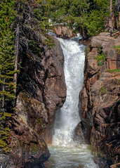 Chasm Falls (markalt) Tags: rockymountains rocky mountain national park waterfalls waterfall nature unitedstates canon tamron water flow art earth colorado pretty outside rmnp chasm falls motion