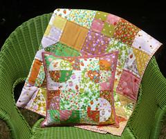 Another Round (alidiza) Tags: quilt patchwork drunkardspath briarrose heatherross