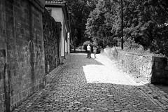 Behind the Bridge (flatthg) Tags: street bw germany blackwhite fuji fujifilm walluf xpro1 xf1855284