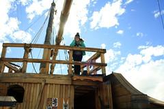 Museo de barcos (Daniela Snow) Tags: chile cold de ship south windy sunny pole punta museo arenas estrecho magallanes