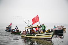 Barqueata na Ilha_03.07.16 _Foto AF Rodrigues (AF Rodrigues) Tags: riodejaneiro barco ilhadogovernador baa zumbi baadeguanabara afrodrigues barqueata