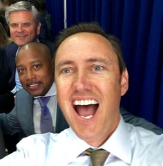 Getting psyched to meet President Obama (jurvetson) Tags: for order president presidential entrepreneurship page summit executive obama ambassadors global ges ges2016