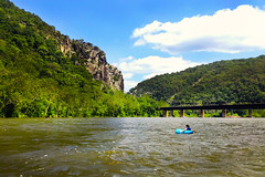 Summer life [Explored] (Paul Sirajuddin) Tags: summer water tubing harpers ferry west virginia maryland outdoors relaxing