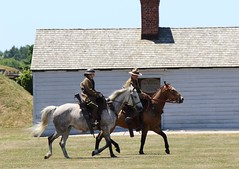 Fort George in the Great War (jmaxtours) Tags: ontario training wwi worldwarone soldiers reenactment cavalry niagaraonthelake niagarafallsontario thegreatwar