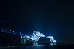 DSC04503 (Zengame) Tags: bridge japan architecture night zeiss tokyo sony illumination landmark illuminated cc jp creativecommons    distagon     wakasu   a6300  tokyogatebridge   distagontfe35mmf14za fe35mmf14 6300 distagonfe35mmf14