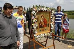 A cross procession from the village of Nikolskoe to the village of Adamovka / Крестный ход из Никольского в Адамовку (38)