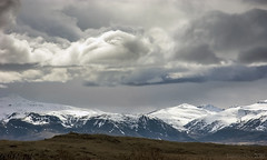 mountains and their heavenly siblings (lunaryuna) Tags: light sky mountain storm weather clouds season landscape iceland spring lunaryuna cloudscape mountainrange panoramicviews seasonalchange southeasticeland weathermood vatnajokullnationalpark