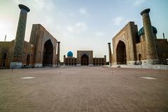 Registan area (Stefano Cislaghi) Tags: uzbekistan samarkand registan madrassah madrasah