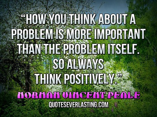 """How you think about a problem is more i by QuotesEverlasting, on Flickr"