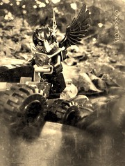 One if by land (xxsjc) Tags: toy lego minifigs afol minifigures toyphotography brickcentral shellycorbett uploaded:by=flickrmobile flickriosapp:filter=nofilter xxsjc