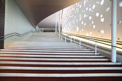 Matsumoto Performing Arts Centre (aquillar) Tags: art japan architecture stair interior matsumoto nagano concerthall toyoito tokinaatx165pro nikond7000