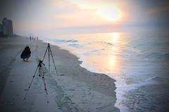 morning shoot (studio.ei8ht.zero) Tags: ocean morning travel beach sunrise photographer photoshoot tourists explore