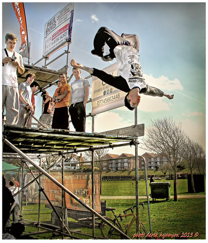 PARKOUR AT SOUTHPORT