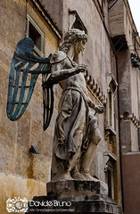 Steel angel (Davide Bruno Photographer) Tags: panorama roma piazza angelo santi sant statua santo castel lazio scultura storia