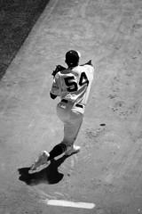 Sergio Romo Warming Up #9 (robhartung) Tags: sanfrancisco grass sport baseball dirt glove giants pitcher 54 mitt sergioromo canonrebelxsi