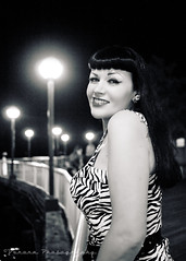 Seattle Angie () Tags: seattle usa wheel female america photo cool model waterfront image united picture ferris retro chick angie photograph rockabilly states pinup attraction greaser sickgirl brunett hotroddinromeos voronaphotography sickgirlangie