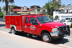 Del Mar Lifeguard (So Cal Metro) Tags: ford beach sandiego lifeguard delmar f450