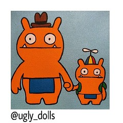 So I loved this picture.^ #uglydoll #uglydolls (ashlibean) Tags: this picture uglydoll loved uglydolls i so