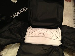 Unboxing! (Alyiena) Tags: leather shopping chanel luxury authentic caviar shw 255 silverhardware chanelclassic