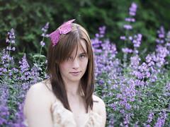 The butterfly princess (shenamt) Tags: look butterfly dof purple princess lavender gaze week24 2013 freelensing week24theme weekofjune10 52weeksthe2013edition 522013