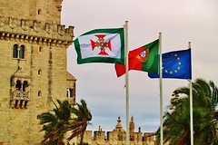 Lisbon (iTimbo61) Tags: travel travelling tower castle portugal architecture buildings war europe european fort lisboa lisbon olympus fortification om1 battlements portugese e500 travelphotography olympuscameras