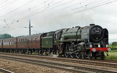70013 'Oliver Cromwell' - Biggleswade (Neil Pulling) Tags: pacific bedfordshire steam nrm nationalrailwaymuseum whiterose steamlocomotive biggleswade eastcoastmainline olivercromwell mainline ecml 70013 mainlinesteam britanniaclass holmegreen eastbedfordshire