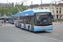 Breng 5242, station Arnhem (Alfenaar) Tags: arnhem ah hermes trolleybus berkhof breng