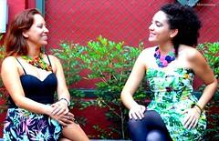 Larrissa Guimarães e Denise Carvalho de Max colar! (Atelier Moreníssima) Tags: fuxico maxcolar