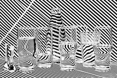 "Hidden Motives (""The Wanderer's Eye Photography"") Tags: family light shadow blackandwhite bw india white abstract black reflection art texture geometric water glass sign set modern illustration canon eos design 3d bottle flask shiny pattern shine graphic bright symbol drink background stripes empty bangalore decoration optical retro line hidden illusion camouflage blank round refraction zebra bubble push dslr shape karnataka vector opticalillusion striped element seamless reflector digitalphotography bouncedlight glassfamily canoneos450d hiddenmotives bangalorephotographers canoneosrebelxsi removedfromstrobistpool incompletestrobistinfo seerule2 rubenalexander thewandererseye"