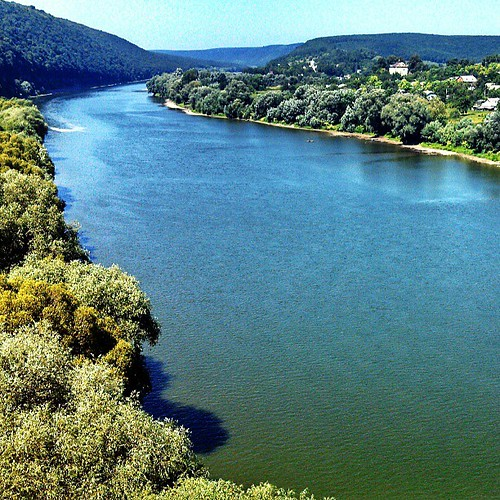 Dniester River #Ukraine #Украïна #travel #instatravel #instalook #instaview #landscape #river #dnister #beauty