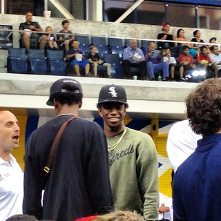 Andrew Wiggins in the building!