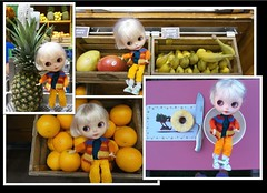 Blythe A Day ~ August 2013 - 15th fruit salad