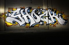 SHOCK (The Braindead) Tags: art minnesota train bench photography graffiti painted tracks minneapolis rail explore beyond the