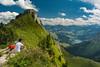 Rochers de Naye (dongga BS) Tags: mountains alps looking view berge human alpen aussicht vaud rochersdenaye waadt