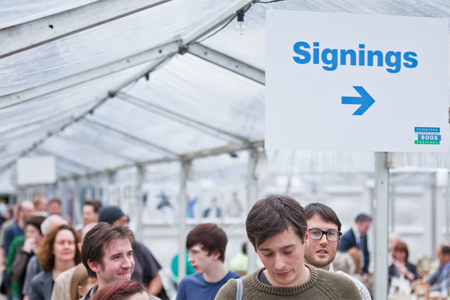 Signing sign