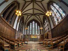Chester Cathedral Lady Chapel (Matty3126) Tags: wales architecture lumix cathedral panasonic chester gb g3 samyang75mmfisheye