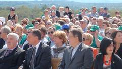 Italia e Slovenia insieme per la pace a Cerje (Provincia di Gorizia) Tags: italia monumento via slovenia museo della miru pahor cerje gherghetta pacepot