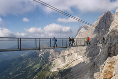 Skywalkers (Gikon) Tags: mountains alps clouds austria landscapes nikon 1855mm dachstein skywalkers gikon d3100