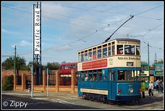 From the Pacific Rim to Pacific Road (Zippy's Revenge) Tags: show classic hongkong rally tram birkenhead vehicle 69 tramway wirral 2013 pacificroad busandtram birkenheadtramways