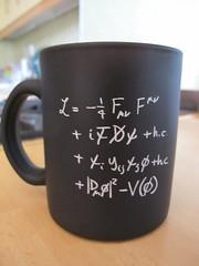 CERN Standard Model equation mug (Rain Rabbit) Tags: mug cern equation