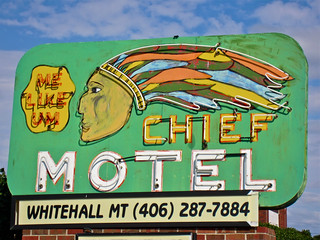 Chief Motel Whitehall, MT