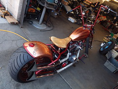 Harleys & Hot Rods (ATOMIC Hot Links) Tags: metal speed chopper paint flames spokes engine fast motorcycles bi
